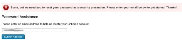 LinkedIn Security Breach