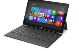 Microsoft Surface tablet black