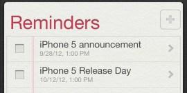 iPhone 5 release date rumors