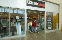 Gamestop retail store