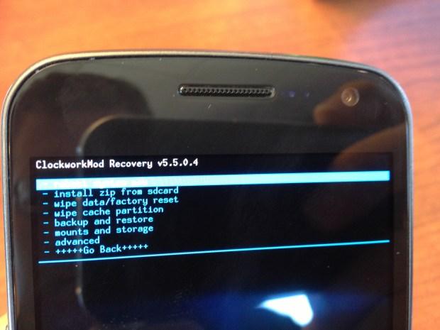 Install jelly Bean on Verizon Galaxy Nexus