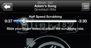 Half-Speed Scrubbing