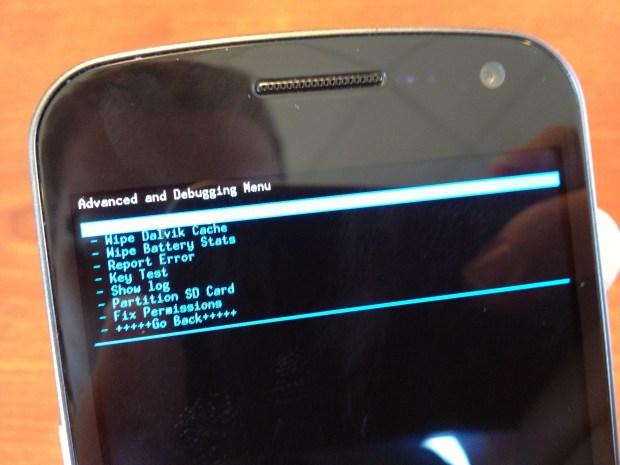 Verizon Galaxy Nexus Jelly Bean Dalvik Cache