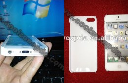 iPhone 5 in case