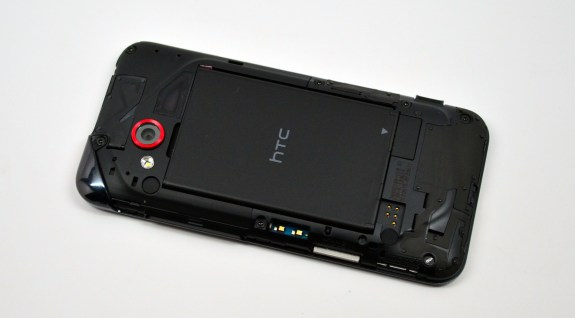 Droid Incredible 4G LTE battery back off