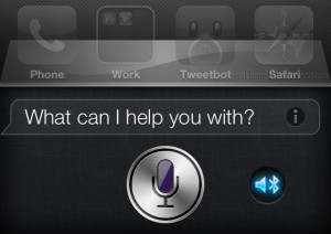 Siri Bluetooth iOS 6