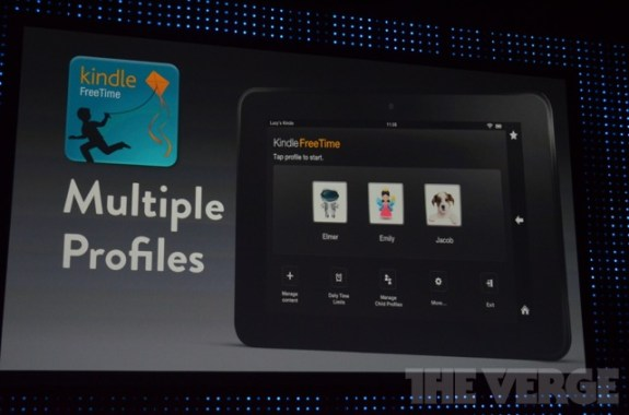 amazon kindle fire multiple profiles