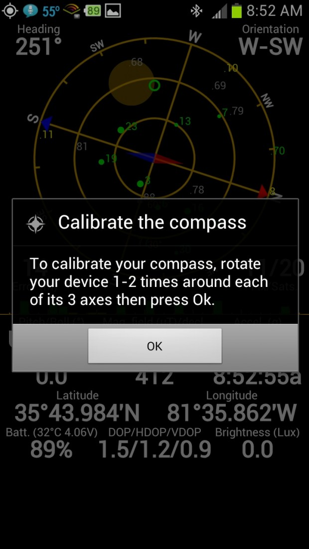 gps-status-calibration