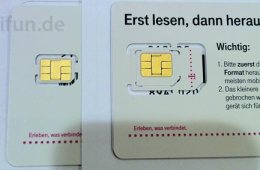 iPhone 5 Nano Sim T-Mobile Germany