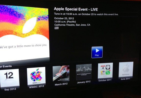 How to Watch iPad Mini Event Live Apple TV