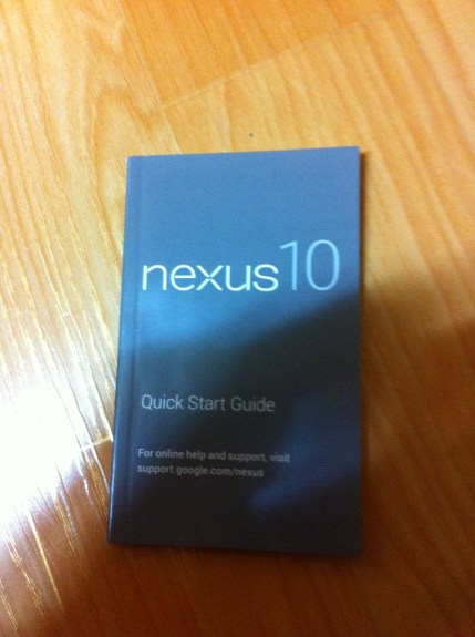 Samsung Nexus 10 manual cover