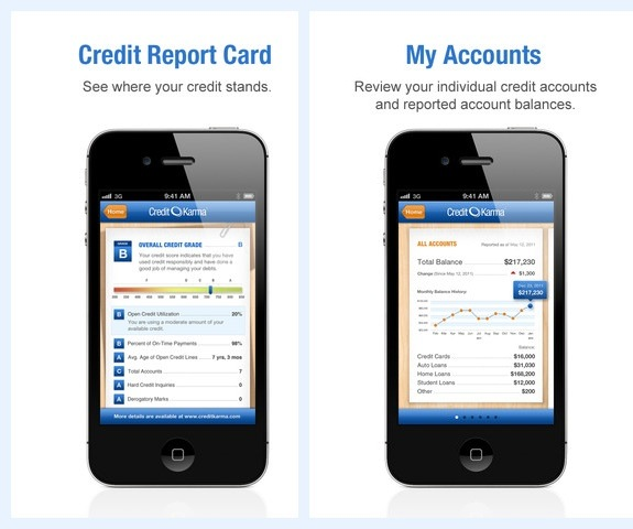 free credit check iPhone app