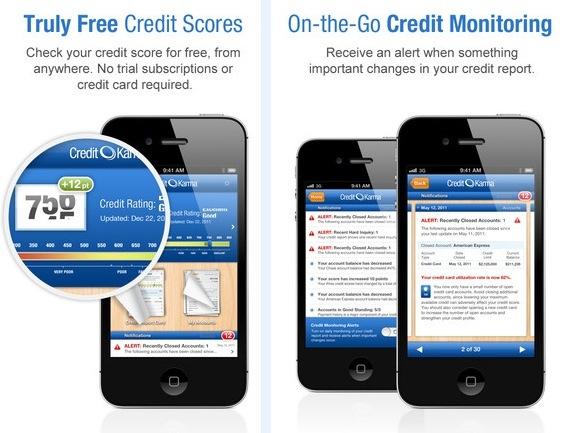 free credit score iphone app credit karma