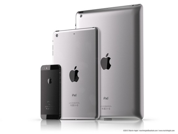 iPad Mini vs iPhone 5 vs iPad