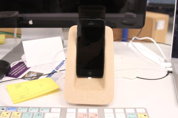 iPhone 5 dock from MacBook Pro