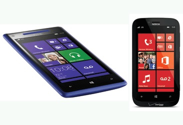 Verizon Windows Phone 8 phones