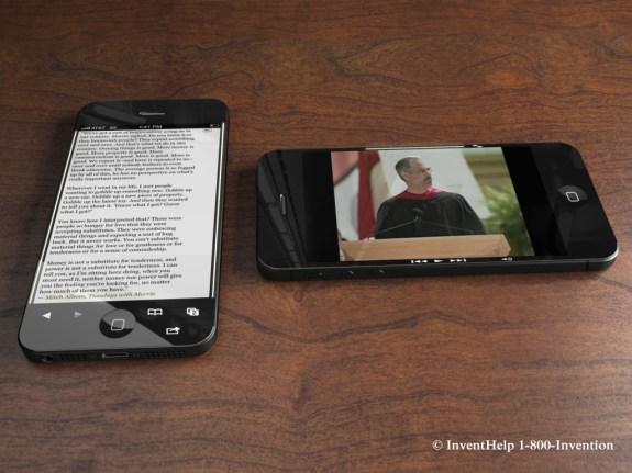 iPhone 5S smart bezel