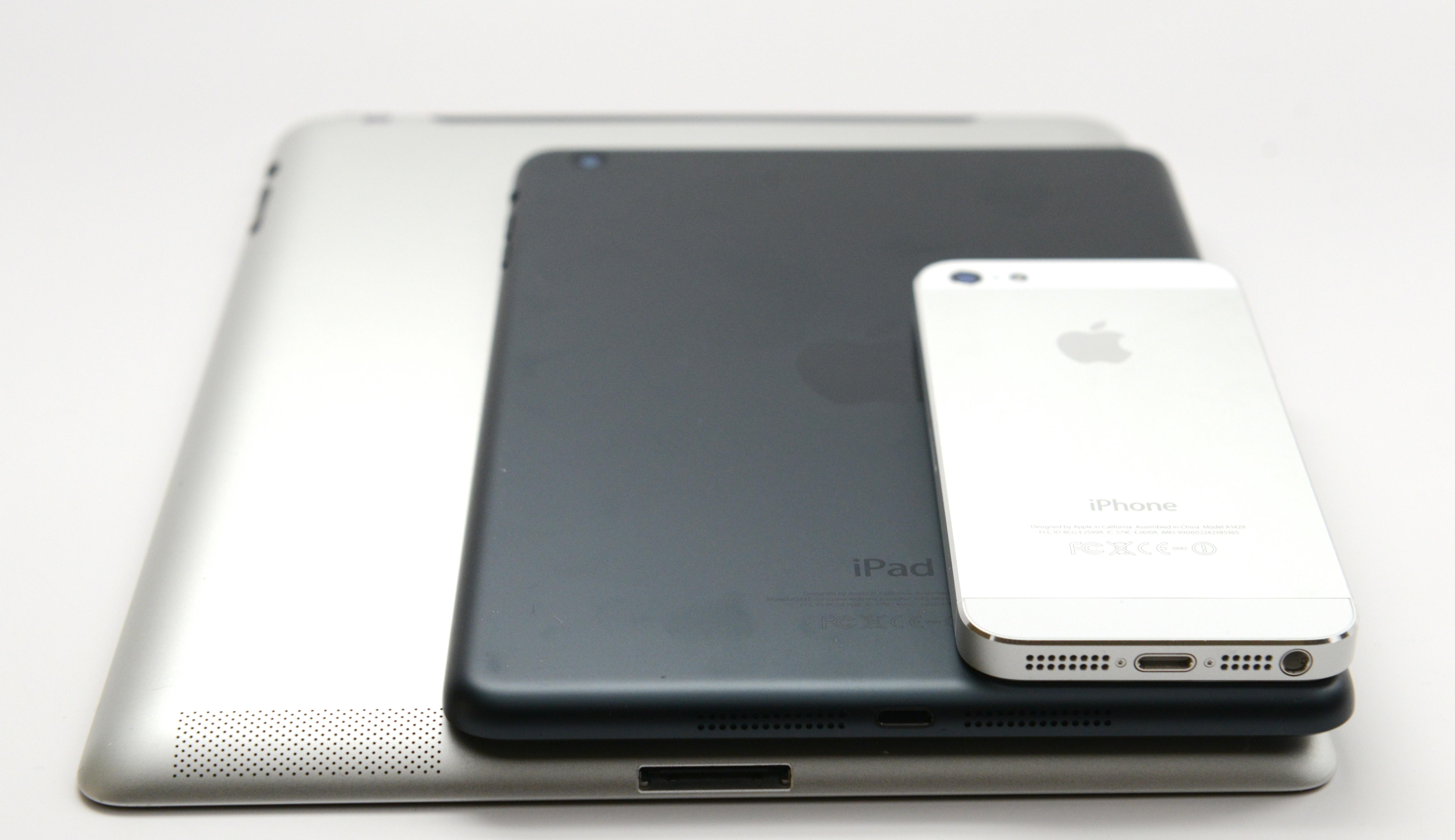 Ipad Mini A6 Chip Iphone 5 Specs