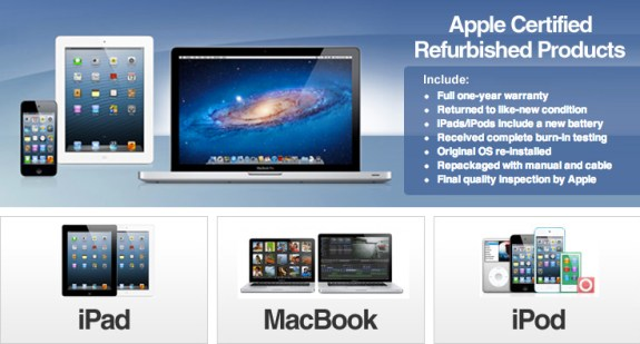 Apple refurbished eBay store