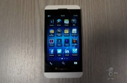 BlackBerry Z10 white leak