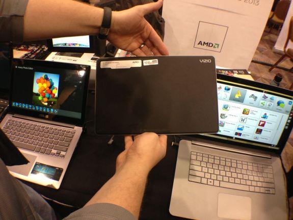 Vizio 10-inch Windows 8 Tablet Hands On -  3