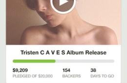 Kickstarter iPhone app