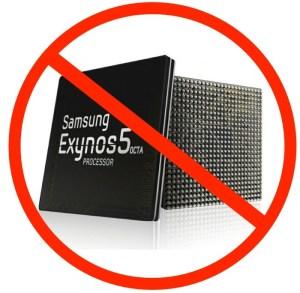 No Exynos Octa 5 in Galaxy S4