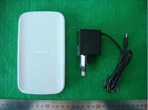 Samsung's wireless charging kit could arrive alongside the Galaxy S4.