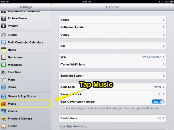 Tap Music (iPad)