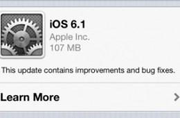 iOS 6.1 Features