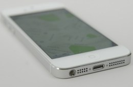 The iPhone 5 sports a smaller 4-inch display.