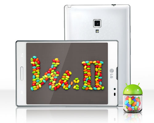 The LG Optimus Vu 2 Jelly Bean update has finally arrived.