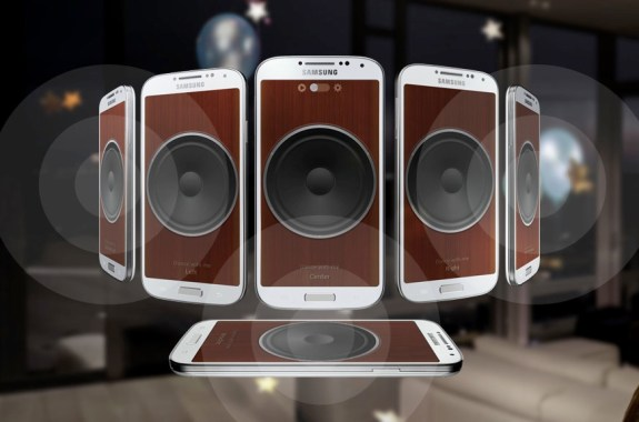 Stream audio over up to eight Galaxy S4 devices.