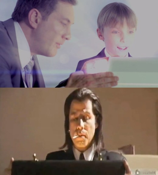 The Samsung Galaxy S4 teaser is a bit like Pulp Fiction's briefcase teaser.