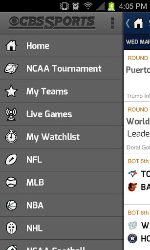 cbs sports android