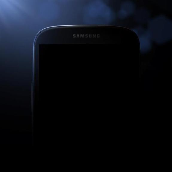 Samsung teased this Galaxy S4 image last night.