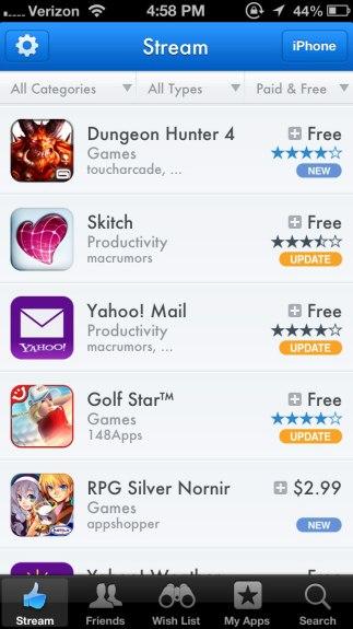 App Shopper Social