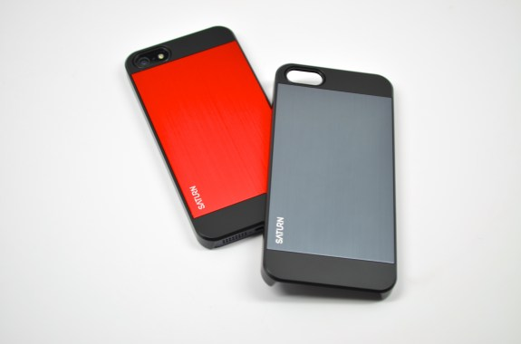Spigen Saturn iPhone 5 case is a slim way to protect the iPhone.