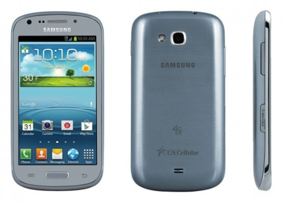 The Galaxy Axiom becomes the first U.S. Galaxy S3 Mini to get Android 4.1.
