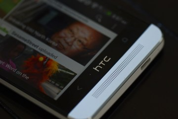 One of Two HTC One Speakers