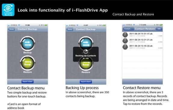 i-FlashDrive app backup