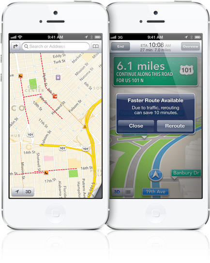 Make Apple Maps smarter with traffic alerts.