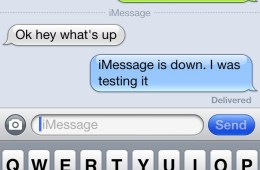 imessage failure