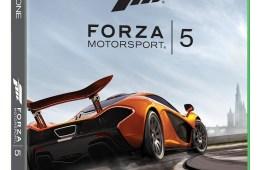 Forza 5 Xbox One box art