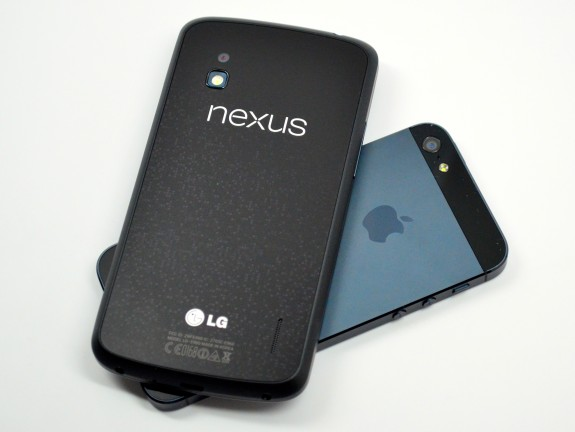 The Nexus 5 could replace the Nexus 4 later this year.