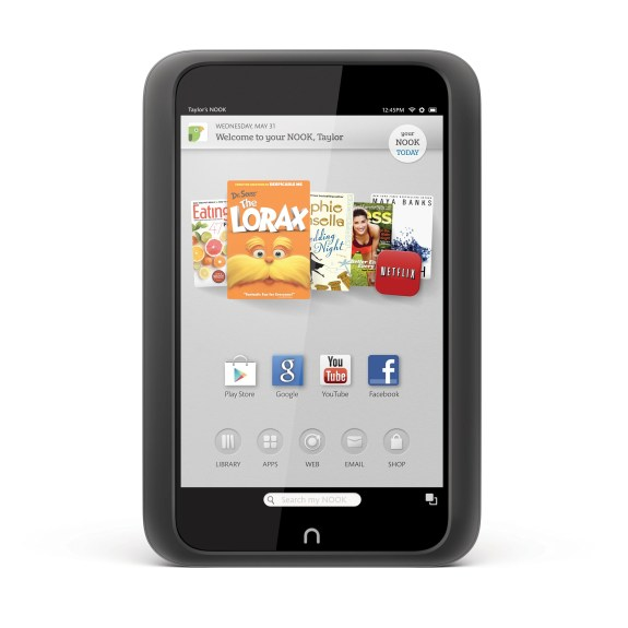 nook hd with google play store and apps
