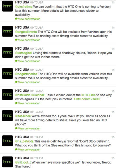 A lot of people want the Verizon HTC One.