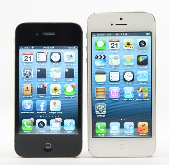 The iPhone 5S is rumored to be coming out later this year.