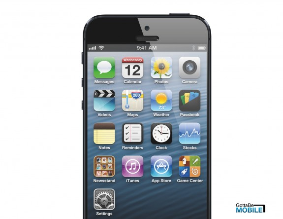 An iPhone 5S concept.