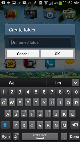 create folders on gs4